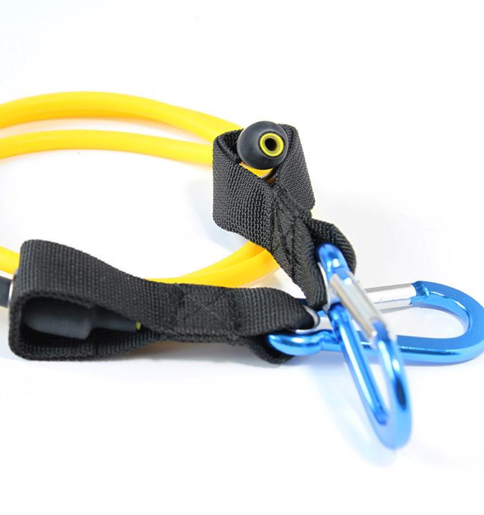 Желтая латексная трубка
