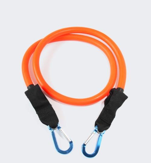 Оранжевая латексная трубка