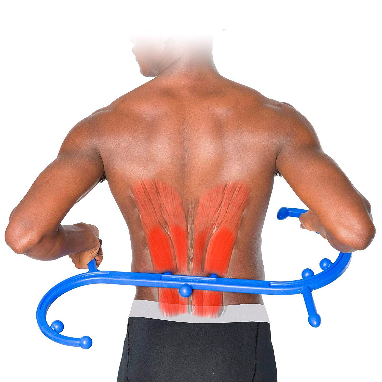 массажер- крюк Body Back Buddy массаж поясницы