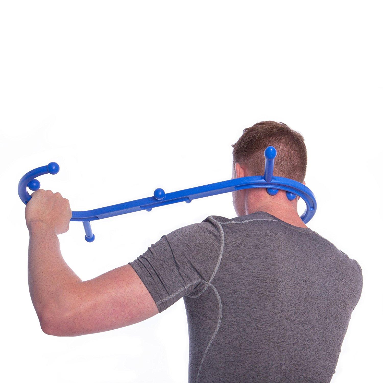 массажер- крюк Body Back Buddy массаж шеи