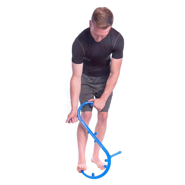 массажер- крюк Body Back Buddy массаж ступни