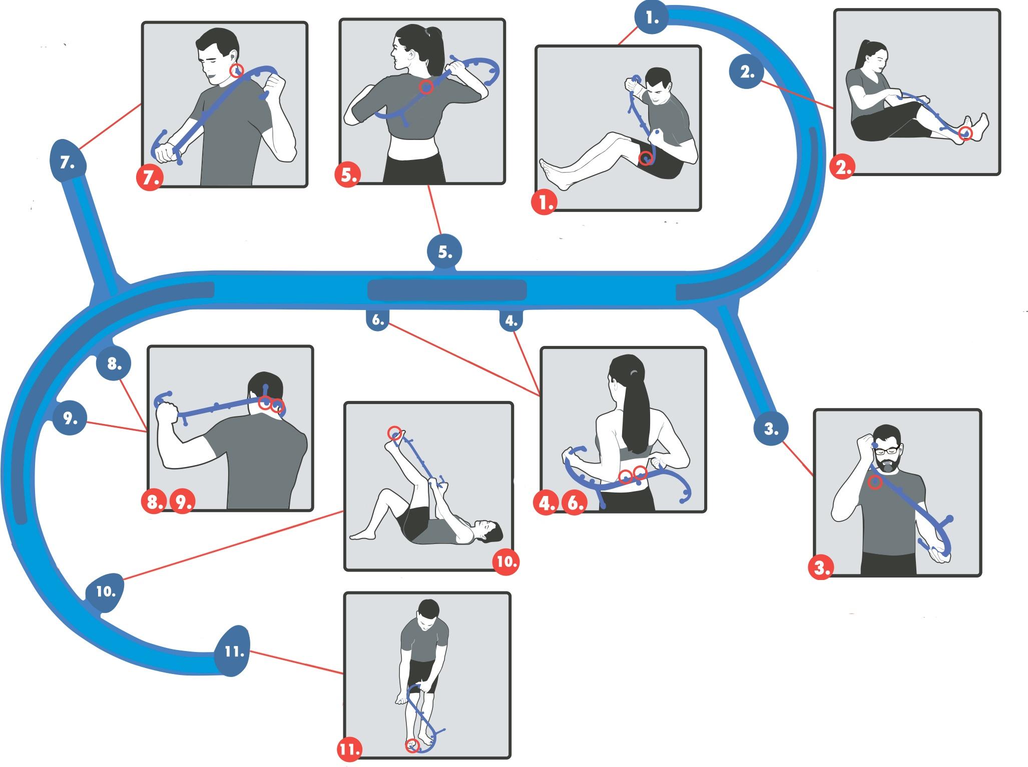 инструкция по применению массажеров BODY BACK BUDDY