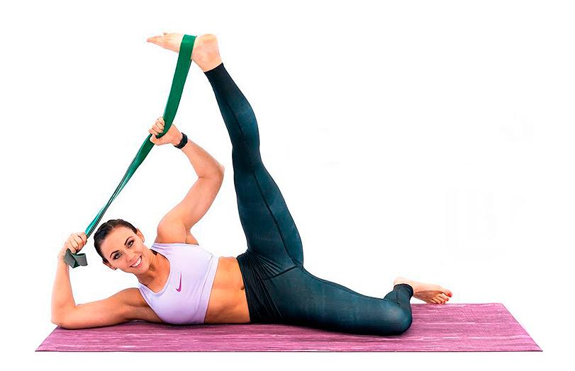 14 упражнений на растяжку с резиновыми петлями