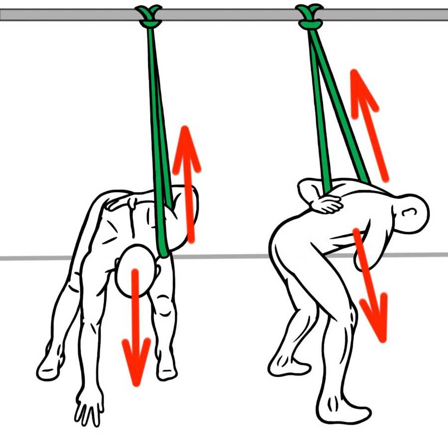 Отвлечение суставов. растяжка плечевого пояса В.
