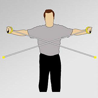 Симметрия тренировка двух рук